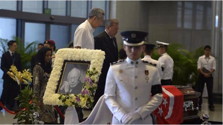 Lee Kuan Yew Funeral Lee Hsien Loong